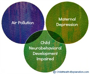 Integrated Impact of Maternal Stress & Air Pollution