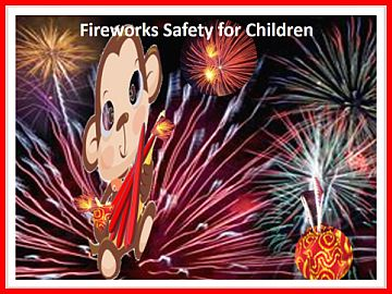 Fireworks are Explosives: Guard children Against Injuries.