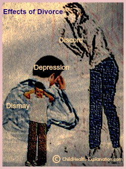 Divorce Leads to Discord, Depression & Dismay